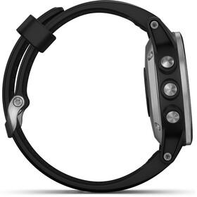 Garmin fenix 5S Plus - negro/Plateado